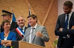 Inauguration du Complexe Nicolas Batum :