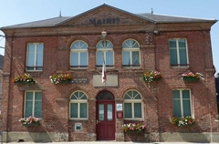 La Mairie de Moyaux :