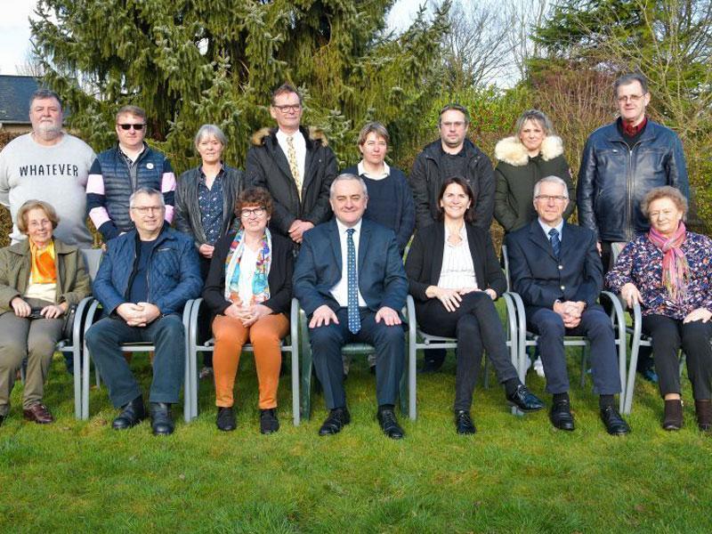 Le conseil municipal de Moyaux