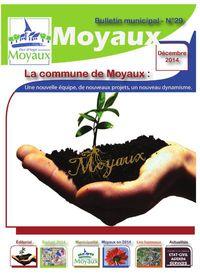 Bulletin municipal de Moyaux 2015