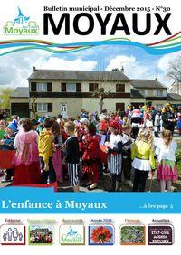 Bulletin municipal de Moyaux 2016