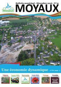 Bulletin municipal de Moyaux 2017